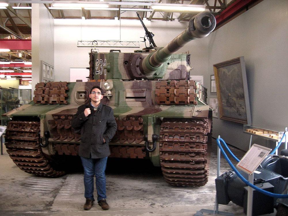 Tiger Tank (German Tank Museum, Munster, Germany)