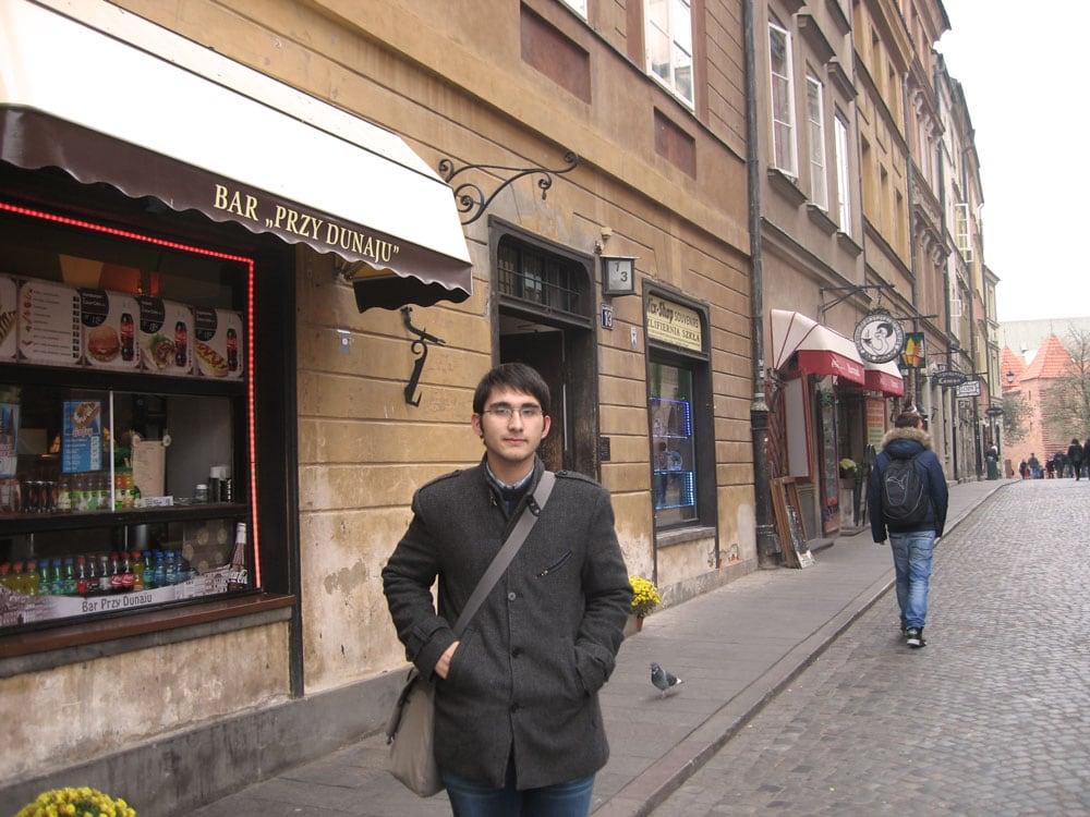 Around Old Town, Warsaw, Poland